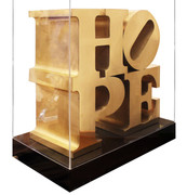Hope By Robert Indiana  FINE ART BRONZE SCULPTURE