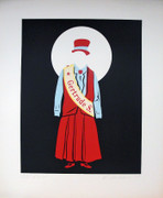 Hand Signed Gertrude Stein By Robert Indiana Retail $2K