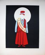 Hand Signed Gertrude Stein By Robert Indiana Retail $2K
