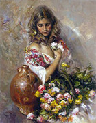 Hand Signed Sentimiento By Royo Retail $3.5K