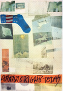 Hand Signed Artists Rights Today By Robert Rauschenberg Retail $9.75K