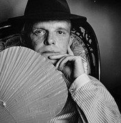 Truman Capote, Vintage 1980 Gelatin Silver Photograph, Jack Mitchell