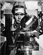 Robert Indiana, Vintage 1969 Gelatin Silver Photograph, Jack Mitchell
