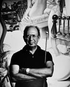 Philip Pearlstein, Vintage 1986 Gelatin Silver Photograph, Jack Mitchell