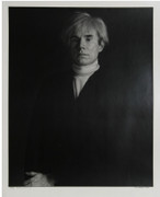 Signed Andy Warhol Silver Print By Curtis Knapp