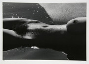 Signed Nu de la Mer (No. 5) by Lucien Clergue