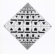 Signed Untitled - Diamond By Roy Ahlgren