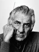 Leonard Bernstein, Vintage 1977 Gelatin Silver Photograph, Jack Mitchell