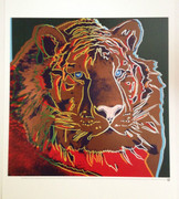 Andy Warhol Endangered Species: Siberian Tiger  litho art print