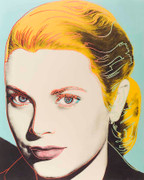Andy Warhol Grace Kelly Hand Signed FS II.305 SCREENPRINT