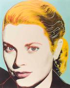 Andy Warhol Grace Kelly Hand Signed FS II.305 SCREENPRINT