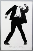 Fabulous Robert  Longo Men In Cities Exhibition  Lithograph Print