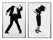 Dynamic Robert  Longo Men In Cities Exhibition Print Collection Set  Buy it now!