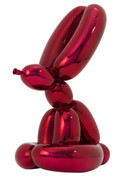 JEFF KOONS SIGNED & NUMBERED CELEBRATION SERIES RED RABBIT  BALLOON