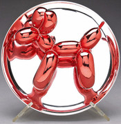 JEFF KOONS AUTHENTIC LIMITED EDITION RED BALLOON DOG