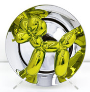 JEFF KOONS AUTHENTIC LIMITED EDITION YELLOW BALLOON DOG