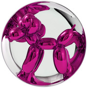 JEFF KOONS AUTHENTIC LIMITED EDITION MAGENTA BALLOON DOG