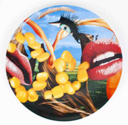 Jeff Koons Lips 2012 Plate Platter