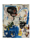 EXTRA Large Jean Michel Basquiat ISBN Lush Giclee  Print
