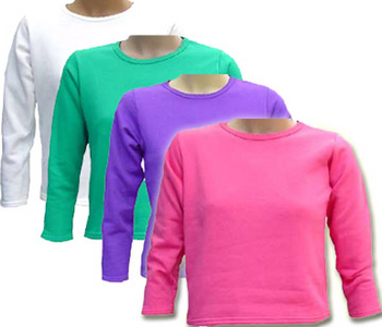 HANES Girl's Cotton Summer Tops