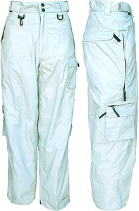 Men's Light Gray 3-in-1 Ski Pant