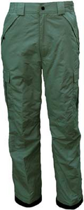 Kid's Army Green Cargo Ski Pants