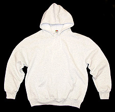 Men's Pull-Over Hooded Sweatshirt