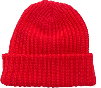 Red WEATHERBEATERS Snow Hat (Unisex) (Made in USA)