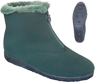 Women's Forest Green Winter Walkers