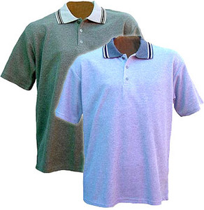 Weathered Knit Polo Shirt