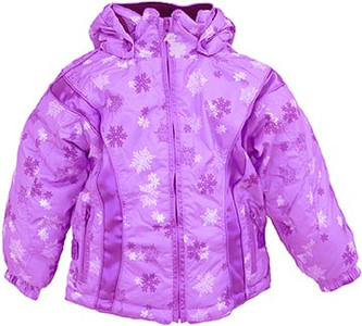 Preschool Girl's Pink Snow Jacket