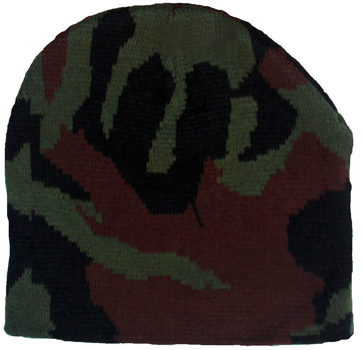 726a597494461 Army camo winter beanies and snow hats.