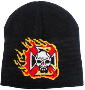 Men's Skull Winter Beanie