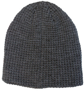 Women's Solid Knit Ribbed Winter Hats