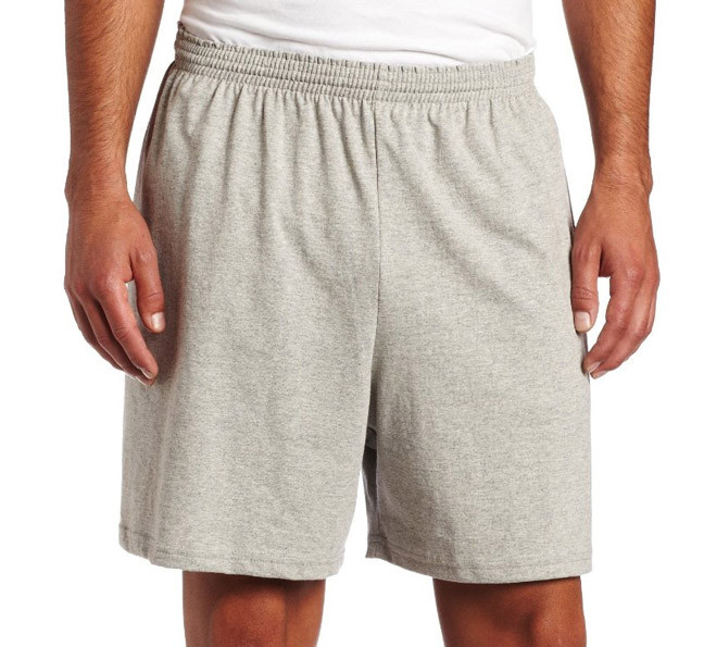 Men's jersey shorts with pockets and 6