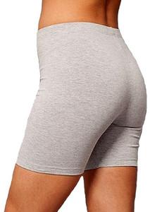 plus size cotton spandex shorts