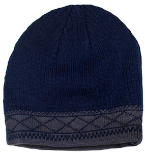 Men's Dark Navy Insulated Winter Hat