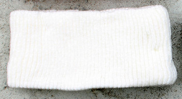 Women's Chenille Winter Headband (White)
