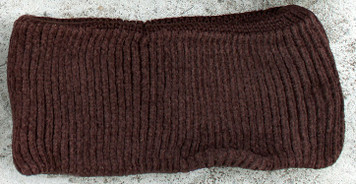 Women's Chenille Winter Headband (Brown)