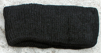 Women's Chenille Winter Headband (Black)