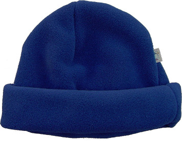 Girl's PUFFIN DOWN Snow Hat (Navy Blue)