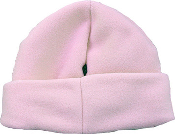Girl's PUFFIN DOWN Snow Hat (Light Pink)