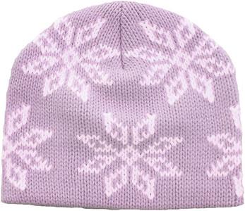 Girl's ATTABOY Snowflake Beanie (Lavender)
