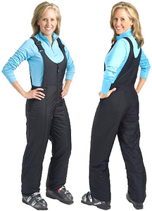 Women's Bib Style Ski Pants (up to 6XL)