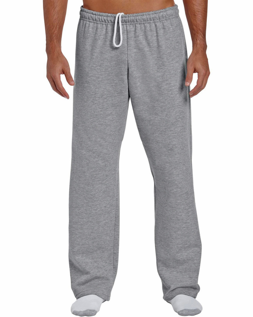 644e167602bc Sweatpants with non-elastic ankles