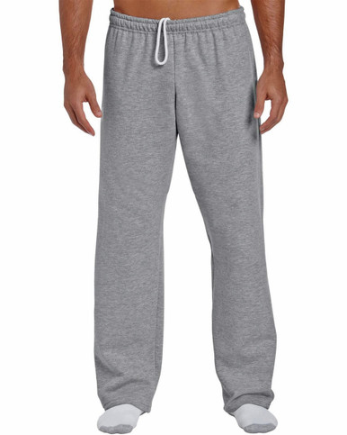 Men's open botton sweatpants