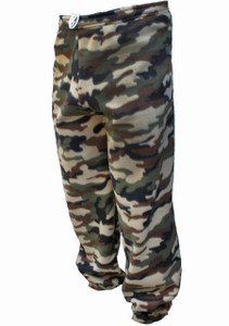 Men's Woodland Camo Polar Fleece Sweatpants