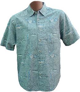 Men's Cotton Fishing Shirt