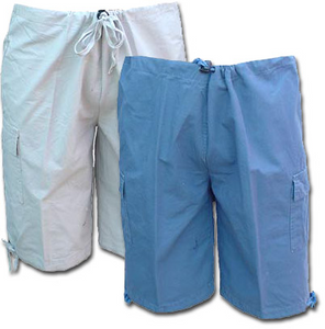 Boy's Cotton Cargo Shorts