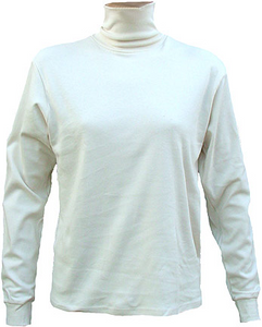 HANES Girl's Cotton Turtleneck